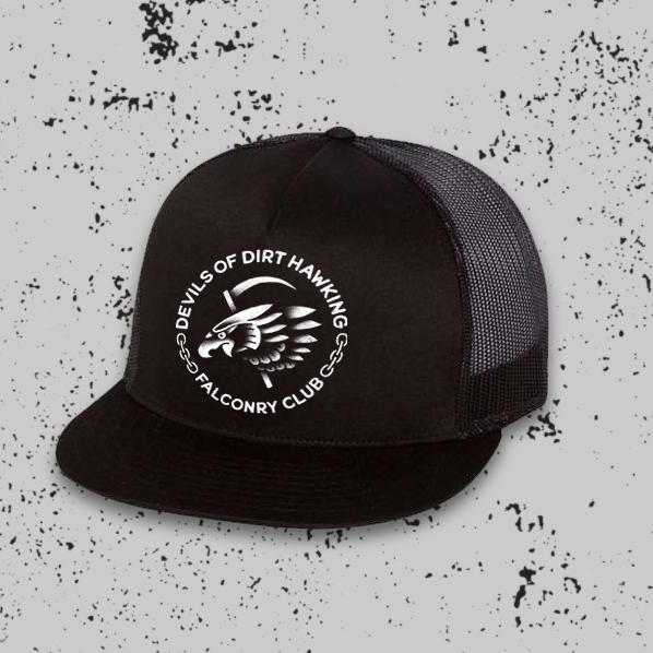 Hawk/Reaper Trucker Hat
